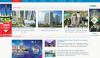 Mẫu website Bất động sản CCTI