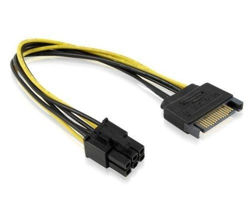 chuyển đổi nguồn Sata ra VGA đầu 6 Pin