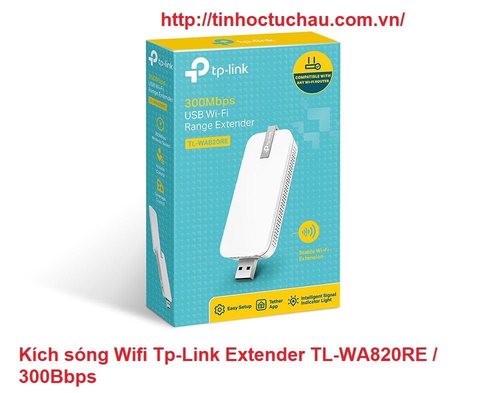 Kích sóng Wifi Tp Link TL-WA820RE / 300Bbps