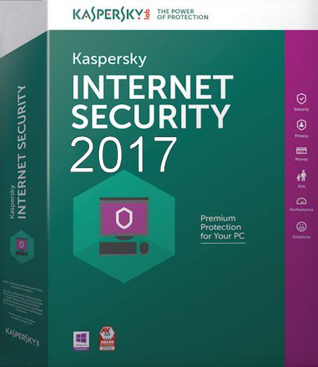 KasperSky InternetSecurity Virus 2017 - 1 Máy tính
