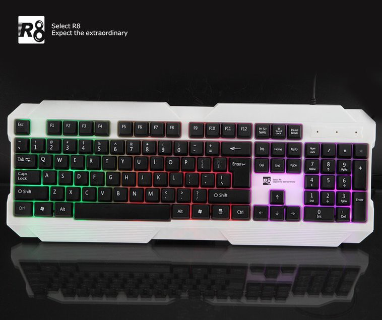 Keyboard R8 - 1823 - Đèn Led