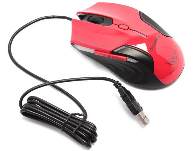 CHUỘT GAME THỦ Mouse Newmen N500 - Màu đỏ