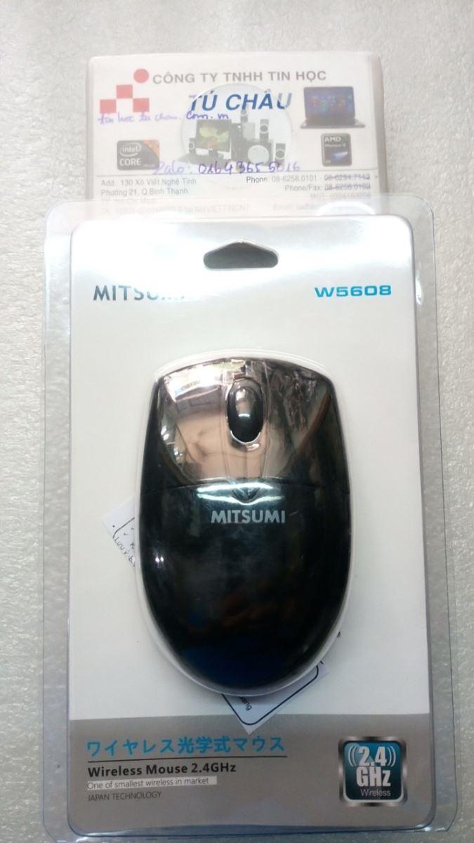 Chuột không dây - Wireless mouse MITSUMI W5608 2.4 Ghz (Chính hãng)