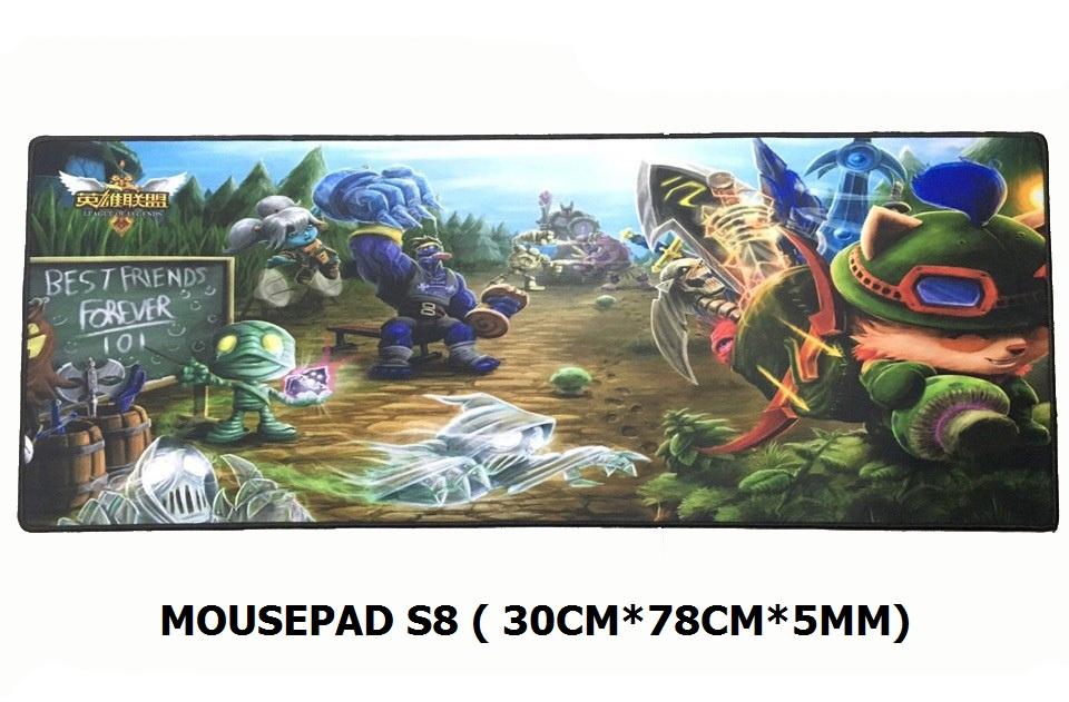 Mousepad S8 (300 Cm X 780Cm X 5mm)