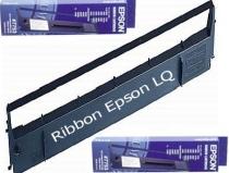 Ruy băng RIBBON: Hộp mực in LQ350, 1.27 X 10M - Màu đen - Máy in kim Epson LQ350