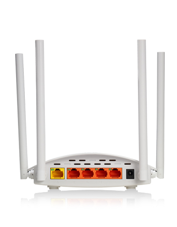 Wireless N Router TOTO LINK N600R; 600Mbps, 4 Port , 4 Anten