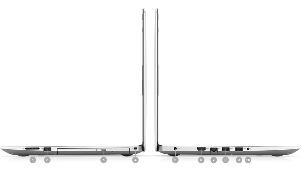 Máy xách tay/ Laptop Dell Inspiron 15 5570-N5570A (Bạc)