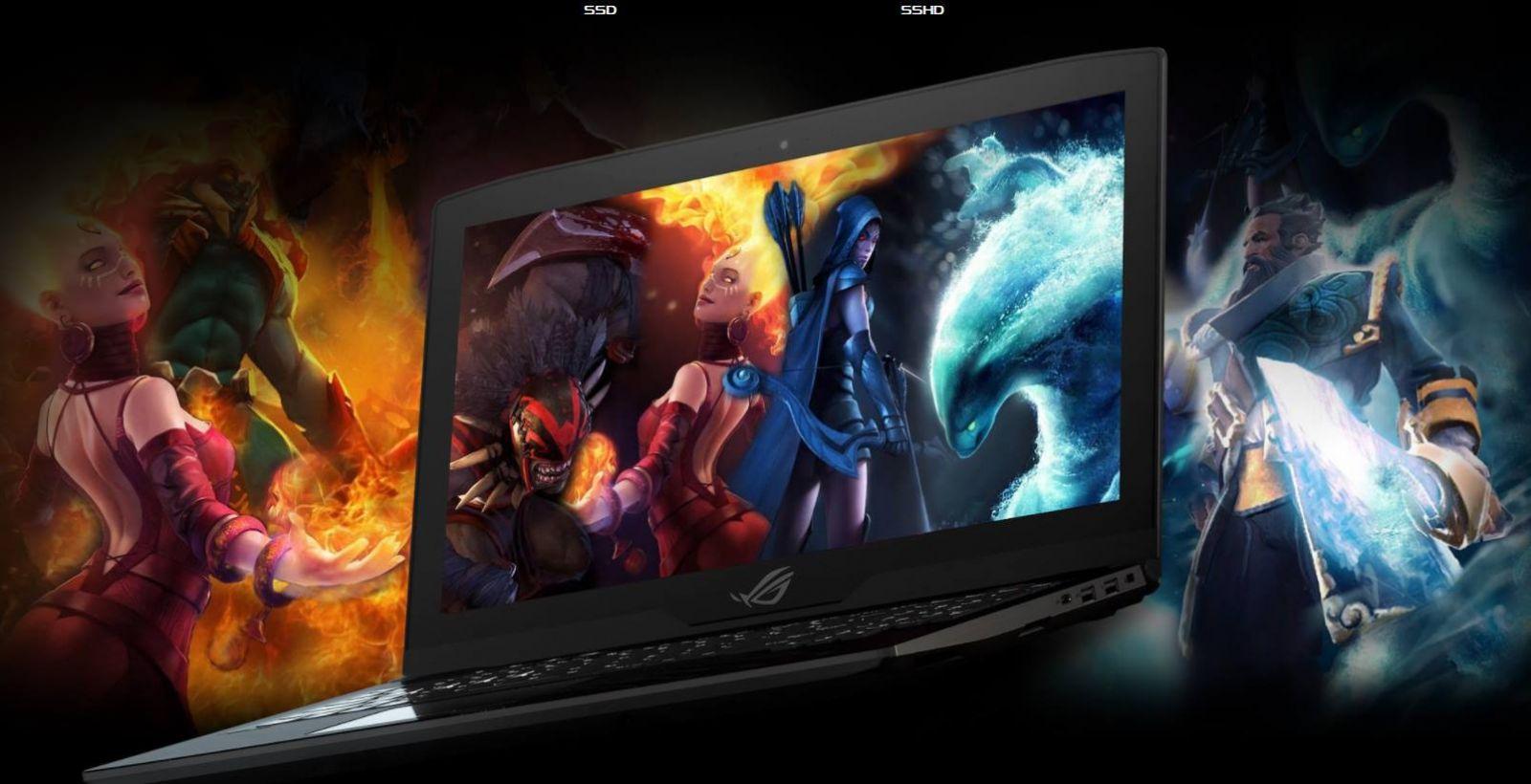 Máy xách tay/ Laptop Asus GL503VD-GZ119T (I7-7700HQ) (Đen)