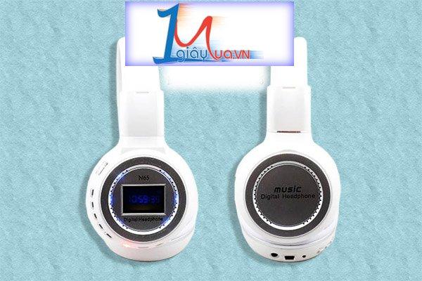 Head phone Mp3 gắn thẻ nhớ N65 âm thanh cực bass
