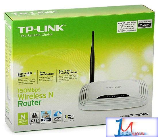 Bộ phát wifi TP-Link 740N chuẩn N 150M