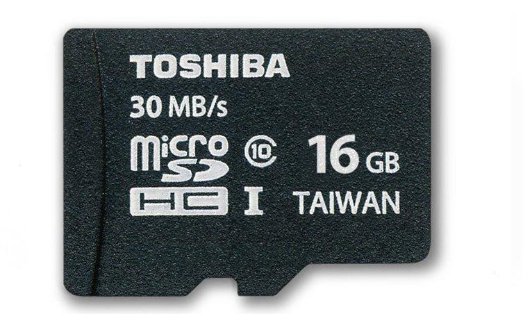 Thẻ nhớ Micro SD Toshiba 16Gb - class 10 tốc độ siêu nhanh